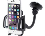 360 Degree Swivel Suction Cup Car Mount Holder for iPhone Samsung Sony Huawei et