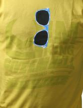 IM KING Mens Yellow Shady Shades Sunglasses Sunnies T-Shirt USA Made NWT image 2