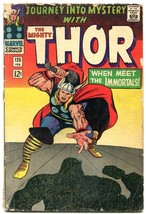 Journey Into Mystery #125 1966- Missing Page THOR POOR - $18.92