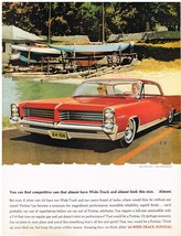 Vintage 1964 Magazine Ad Pontiac Has Become a Synonym For Magnificent Attributes - $5.93