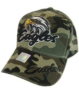 Men's Eagles Adjustable Baseball Cap (Military Camo) - $12.95