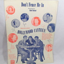 Don't Fence Me In 1940 Sheet Music Piano Voice Guitar Vintage Cowboy Song - $11.86