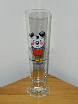 Lasse Aberg Beer Glass Mouse Mus Med Cat Tall Glass 30CL Signed Sweden MUS - $24.99
