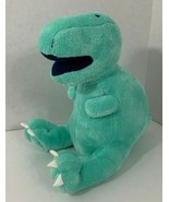 Circo Dino Dinosaur Plush teal green blue orange T-rex stuffed  2015 Tar... - $4.94