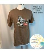 B Kliban Cat Chocoholic Chonky Cat Guam T-shirt Chocolate Wash Usa Adult... - $27.23