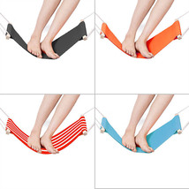1pc Colorful Adjustable Foot Rest Hammock Under Desk Office Footrest Sta... - £15.99 GBP