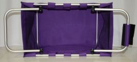 WB Brand MarketPur Large Purple Market Tote Collapsible image 3