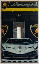 Lamborghini auto sport car Light Switch Power outlet Wall Cover Plate Home decor image 4