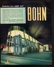 Original 1945  Print Ad Bohn Aluminum  and Brass Corporation Future Fact... - $9.49