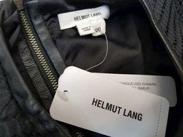 NWT NEW Women Helmut Lang Black Pencil Dress Size 00 image 6