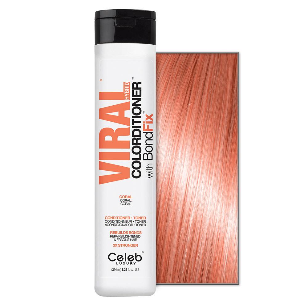 Celeb Luxury Viral - Pastel Coral Colorditioner  8.25oz
