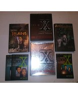 Lot of 7 X-Files Books Ruins Antibodies Book of Unexplained 1+2 Voltage ... - $19.79