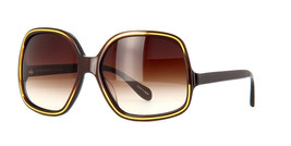 Oliver Peoples Talya Dns Oversized Sunglasses Spotted Yellow Tortoise 61mm Japan - $376.20
