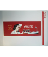 Coca-Cola Pause and Refresh Red Vinyl Wall Decal Removable Re-positionab... - $9.90