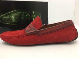 Magnanni Rafu 17987 Red Men's Loafer Size 41 US 8 M image 3