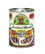 Linstead Market Jamaica Gungo Peas (Pigeon Peas) in coconut Milk 13oz - $10.40