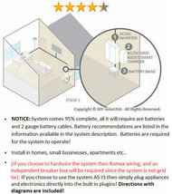 10,000 Watt 110/120V Battery Backup/UPS System - Great for apartments/re... - €2.068,34 EUR