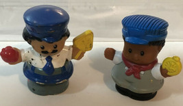 Fisher Price Little People Lot Of 2 Men - $5.93