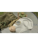 Rare Russian Soviet GP-5 Military Gas Mask Full Set Size 1 (Small) Made ... - $19.52