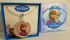 Disney Frozen Princess Anna Pendant With Frozen Gift Box 18 Inch Chain N... - $9.88