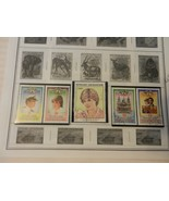 Lot of 5 Central African Republic Prince Charles & Princess Diana Stamps... - $7.43