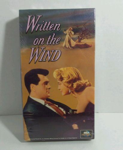 Written on the Wind Robert Stack, Lauren Bacall, Robert Keith, Grant Williams VH