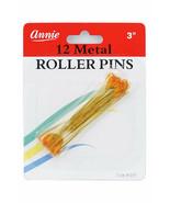 Annie Metal Roller Pins 3'' 12 Count #3197 - $4.90