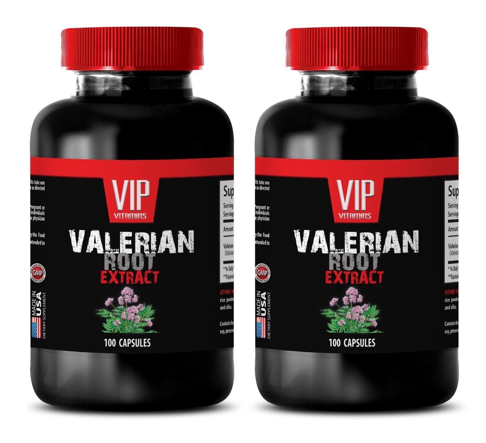 Stress capsules - VALERIAN ROOT EXTRACT - valerian seeds - 2B - $22.40