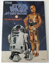 1978 Star Wars Story Book Full Color Photographs Original Movie - $8.60