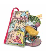 Jellycat Soft Cloth Baby Books, Unicorn Tails, 8 inches - $24.50