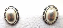 Georg Jensen Sterling 2001 Earrings (#J3498) - $325.00