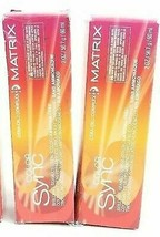 Matrix Color Sync Seamless Creme Demi-Color Ammonia Free 4G Dark Brown G... - $9.89