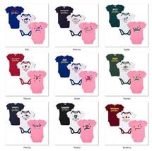 NFL 3 pk Girls Bodysuit Set by Gerber Childrenswear Select Size THEN Tea... - €23,92 EUR+