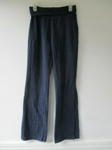 Children's Place Girl's Size L 10/12 Solid Navy Blue Yoga Pants - $20.80