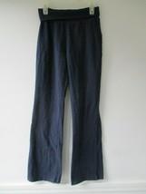 Children's Place Girl's Size L 10/12 Solid Navy Blue Yoga Pants - $20.80