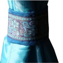PANDA SUPERSTORE Set of 2 Ethnic [Blue] Embroidery Curtain Holdbacks/Tiebacks/Bu