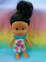 Greenbrier International Small Toddler Doll Dark Complexion Rooted Hair ... - $1.34