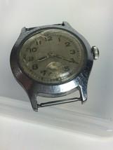 Vintage Wearever Watch Deauville Seven Jewel Swiss Parts Repair 32mm - $16.93