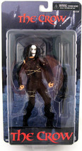 The Crow Eric Draven Cult Classics Action Figure NECA NIB 2009 Brandon L... - $96.52