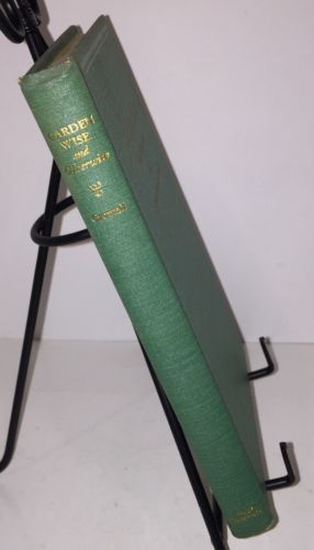 Garden Wise And Otherwise 1934 Joshua Freeman Crowell Garden Flowers POEMS  W/ DJ