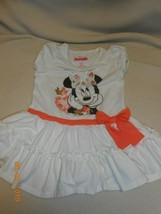 Cute Disney Minnie Mouse size 2T glitter ruffled dress - $9.89