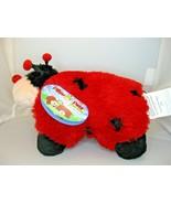"Pillow Pets Pee Wee Ladybug 11"" Red Black Ms Lady Bug Soft Stuffed Plush... - $14.84"