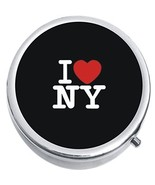 I Love NY New York Medicine Vitamin Compact Pill Box - $9.78