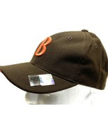 "Cleveland Browns Vintage NFL 100% Wool Fitted ""B"" Cap (New) By Nike - $34.99"