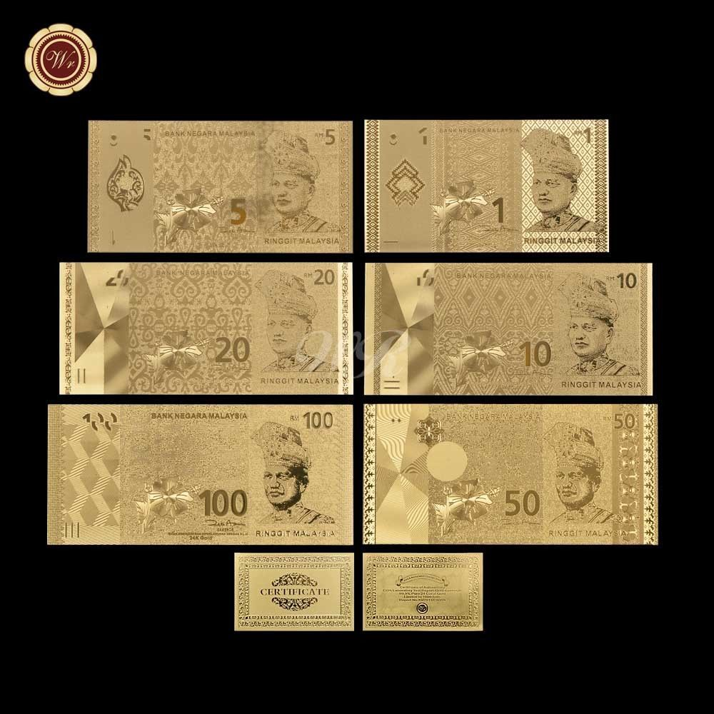 WR Canada $100 Dollar Polymer Note 24K GOLD Foil World Banknotes Collection Gift