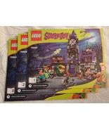 2015 LEGO Scooby Doo Mystery Mansion INSTRUCTION MANUAL ONLY (75904) NEW - $18.00