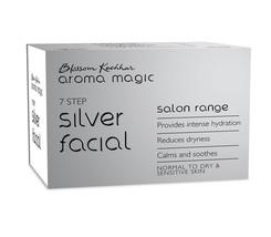 Blossom Kochhar 7 Step Silver Facial Kit Salon Range AROMA MAGIC  - $28.04
