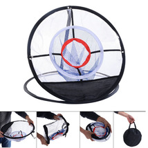 Portable Golf Training Chipping Net Hitting Aid Practice In/Outdoor Bag ... - $24.99