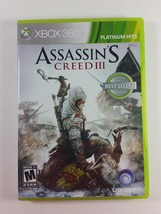 Assassin's Creed III (Microsoft Xbox 360, 2012) - $3.99