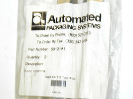 NEW AUTOMATED PACKAGING 59121A1 STRIPPER PLATE image 2